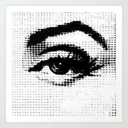 50's Eye Art Print