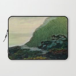 Mists In The Pitons: St. Lucia Laptop Sleeve