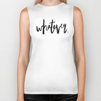 whatever Biker Tanks featuring WHATEVER by Five West