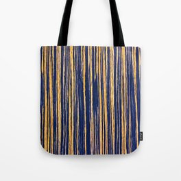 Vertical Scratches on Royal Purple Metal Texture Tote Bag