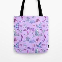 Pink Menagerie Tote Bag