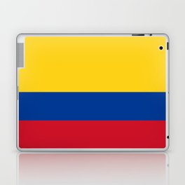Flag of Colombia-Colombian,Bogota,Medellin,Marquez,america,south america,tropical,latine america Laptop & iPad Skin