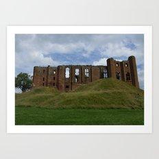 Castle Ruin Art Print