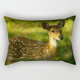 Little Bambi Deer Rectangular Pillow