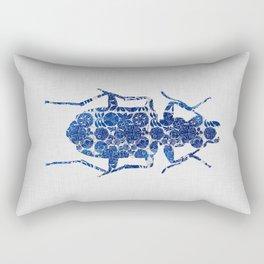 Blue Beetle II Rectangular Pillow