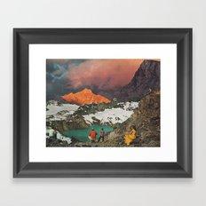 EMBER Framed Art Print