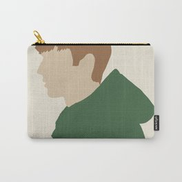 Outdoors Green Parka - Figure Illustration Carry-All Pouch