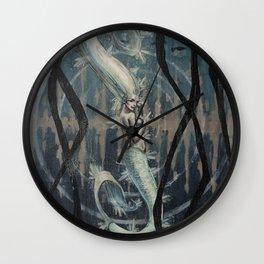 Mermaid's Heartbeats Wall Clock