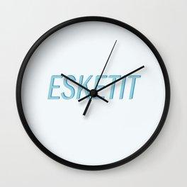 esketit Wall Clock
