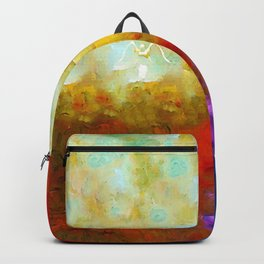 Angels Among Us - Emotive Spiritual Healing Art Backpack