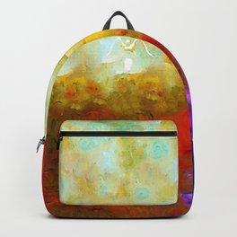 Angels Among Us - Emotive Spiritual Healing Art Backpack