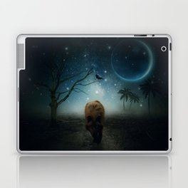 The Raven And The Wolf by GEN Z Laptop & iPad Skin