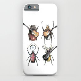 Meet the Beetles (white option) iPhone Case