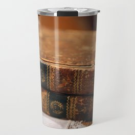 Antique Books Travel Mug