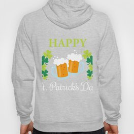 Patrick's Day Gift. Shirt For Beer Lover Hoody