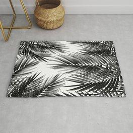Palm Leaf Jungle Vibes #3 #tropical #decor #art #society6 Rug