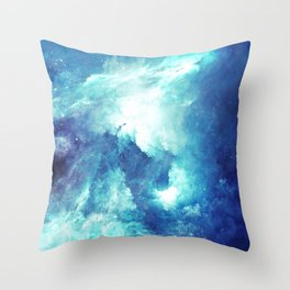 Stardust Path Throw Pillow
