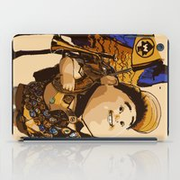 kevin russ iPad Cases featuring UP: Russell & Kevin by joshuahillustration