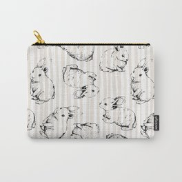 Vintage Bunnies Carry-All Pouch