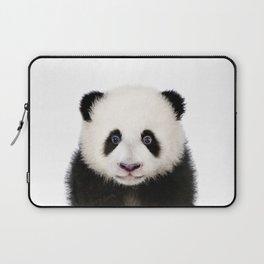 Baby Panda, Baby Animals Art Print By Synplus Laptop Sleeve