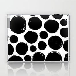 Black ink drops Laptop & iPad Skin