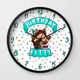 Birthday Kitty (2018) Wall Clock
