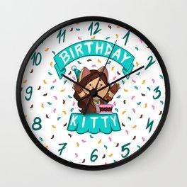 Birthday Kitty (2018) Wall Clock