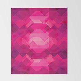 Gemstone - Ruby Throw Blanket