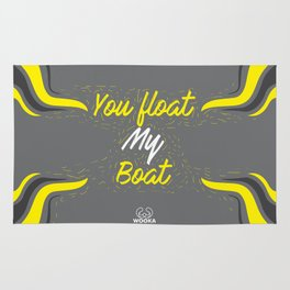 You float my boat Rug