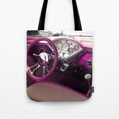 Hot Rod Purple Tote Bag