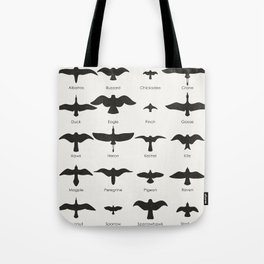 Field Guide for Birding Tote Bag