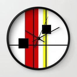 Geometrical design Wall Clock