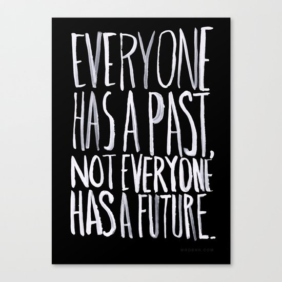Past/Future Canvas Print