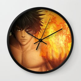 Flame on ! Wall Clock