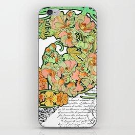 Romance in Paris iPhone Skin