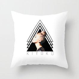 kiyoko Throw Pillow