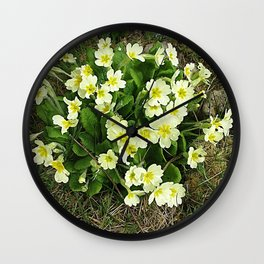 Primrose Time Wall Clock