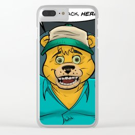 Danger-Squad Homecoming Clear iPhone Case