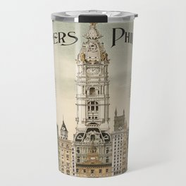 Vintage poster - Philadelphia Travel Mug