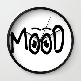 Mood #1 Wall Clock
