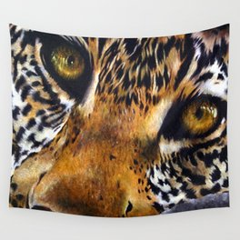 Deep - Leopard Painting Wall Tapestry