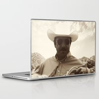 cowboy Laptop & iPad Skins featuring Cowboy by DistinctyDesign