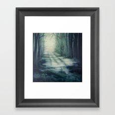 Dappled Stories Framed Art Print