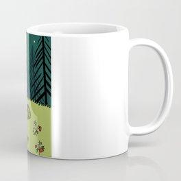 Frog On A Forest Field Coffee Mug