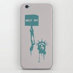 Dying Liberty! iPhone & iPod Skin