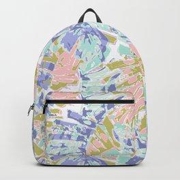 Pastel leafs Backpack
