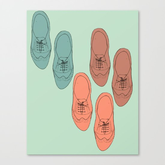 Oxfords Canvas Print