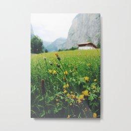 Lauterbrunnen Valley Metal Print