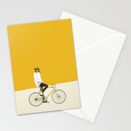 The Yellow Bike Stationery Cards