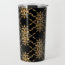 Classique Art Deco Luxury Pattern Travel Mug